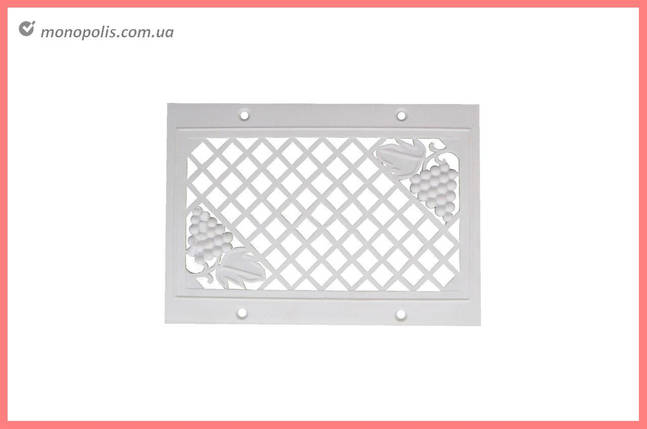 Решетка вентиляционная HozPlast - 160 x 230 мм, фото 2