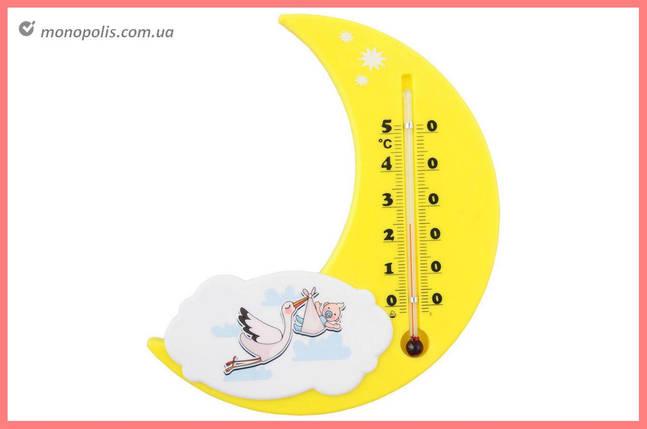 """Термометр кімнатний Стеклоприбор - (0/+50°C) П-17 """"лелека"""", фото 2"""