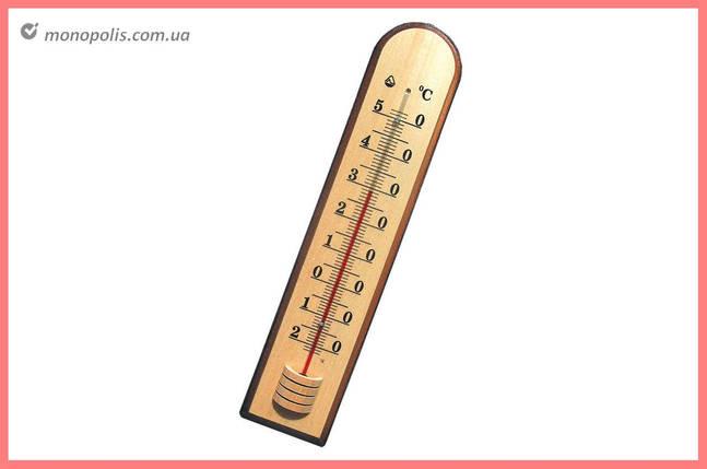 Термометр кімнатний Стеклоприбор - (-20/+50°C) Д-7, фото 2