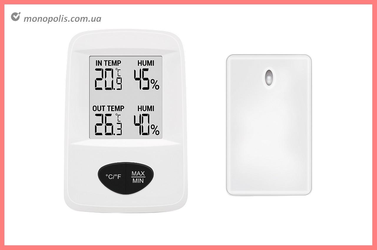 Термогігрометр цифровий Стеклоприбор - (-30/+60°C) Т-20