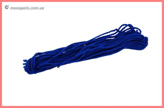 Шнур побутової UA - 2,5 мм х 20 м, кручений кольоровий (10 м), фото 2