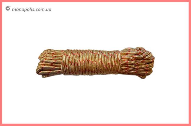 Шнур плетеный UA - 5 мм x 15 м, пакет, фото 2