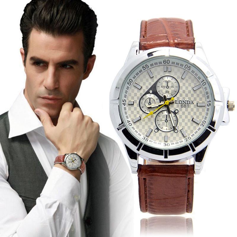 Чоловічі наручні годинники Londa 681 Brown