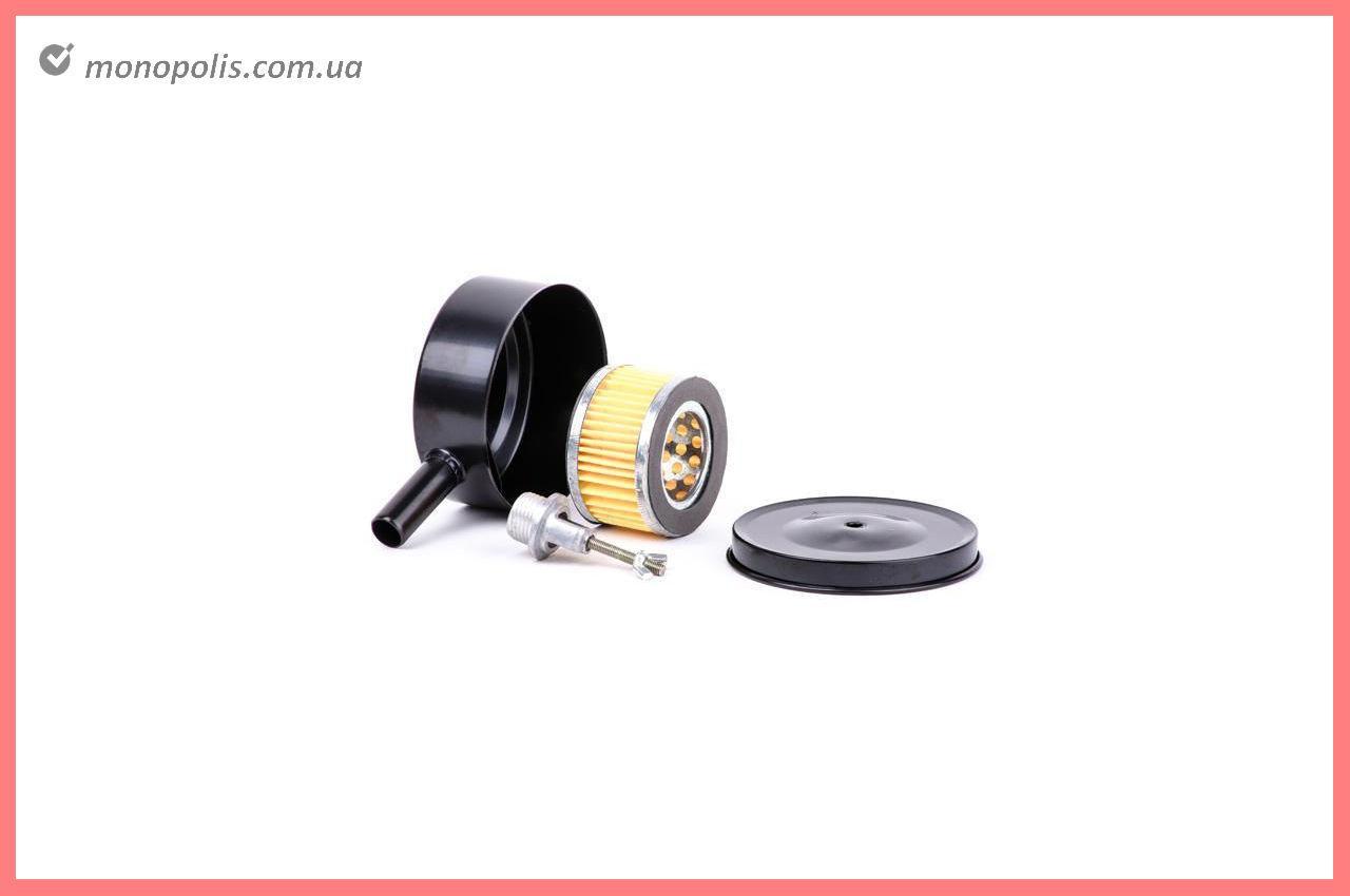 Фильтр воздушный для компрессора Intertool - M20 металл, бумажный