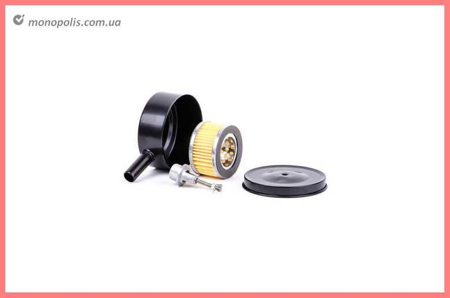 Фильтр воздушный для компрессора Intertool - M20 металл, бумажный, фото 2