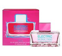 Женская туалетная вода Antonio Banderas Electric Seduction Blue for Women, 100 мл