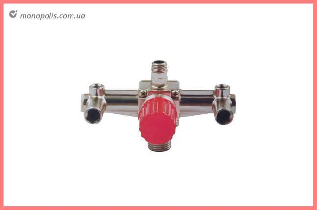 Контрольно-распределительный блок Intertool - красный, фото 2