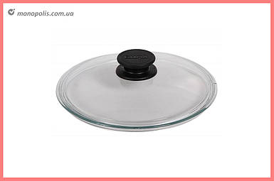 Крышка стеклянная Биол - 160 мм, низкая