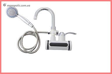 Проточный водонагреватель с душем PRC - Faucet & Shower LZ008