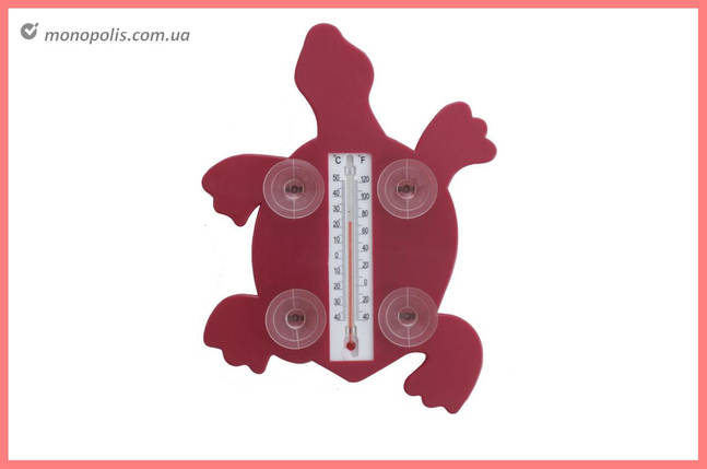 Вуличний Термометр Elite - (-40°C/+50°C) черепаха, фото 2