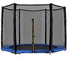 Защитная сетка для батута 6 фт 183 см, 6 столбиков, внешняя, фото 2