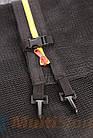 Защитная сетка для батута 6 фт 183 см, 6 столбиков, внешняя, фото 7