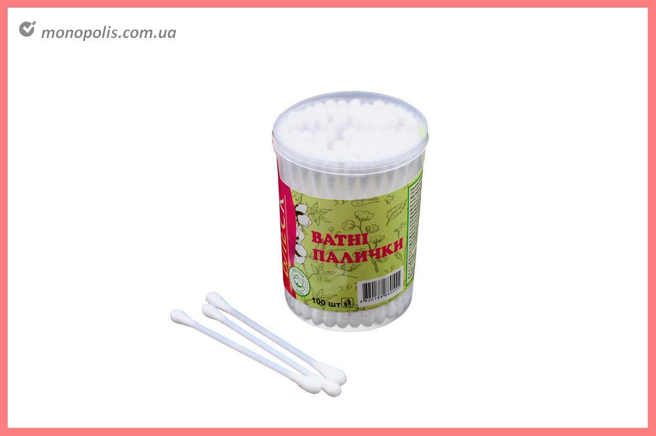 Ватные палочки Блеск - пластиковые (100 шт.)
