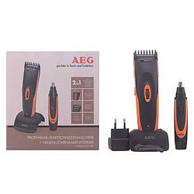 Машинка для стрижки волос и бороды + тример AEG HSM/R 5597 NE аккумуляторная