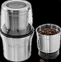 Кофемолка PROFICOOK PC-KSW 1021, 2в1 кофемолка +измельчитель 200 Вт