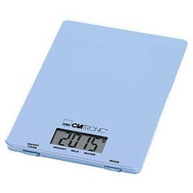 Электронные кухонные весы CLATRONIC KW 3626 функция тарирования, ЖК-дисплей, до 5 кг, Blue