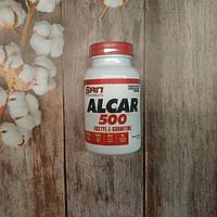 SAN Alcar 500 Acetyl L-Carnitine 60 caps, ацетил л-карнитин, фото 1