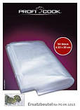 Пакеты к аппаратам вакуумной упаковки PROFICOOK PC-VK1015 / Clatronic Profi Cook PC-VK 1080, 22*30см, 50шт, фото 3