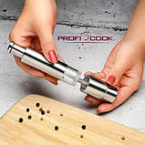 Комплект з двох подрібнювачів PROFICOOK PC-PSM 1160 для солі і перцю, фото 3