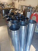 Труба для дымохода одностенная нержавейка 0,8мм. 140