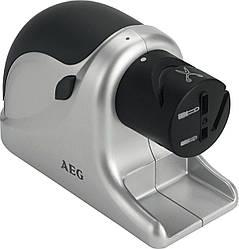 Аппарат для заточки ножей и ножниц AEG MSS 5572 / Ножеточка всех видов ножей, ножниц, отверток,220 V