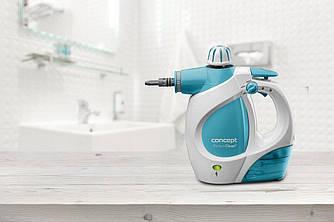 Пароочиститель Concept CP1010 Perfect Clean для дома с насадками, 1200 Вт
