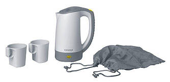 Туристический электрочайник Concept RK-7010 + 2 чашки и чехол, 0,4 л