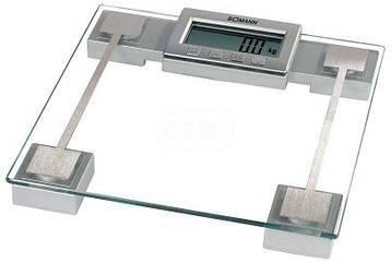 Многофункциональные электронные весы BOMANN PW 1409 из стекла до 150 кг
