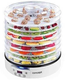 Электрическая сушилка для овощей и фруктов Concept SO-2020, 9 секций, светодиодный дисплей, таймер, 500Вт