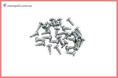 Саморез для профиля с буром (блоха) Sroub - 3,5 х 9,5 мм (1000 шт.) цинк