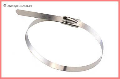 Хомут металлический Apro - 4,5 х 300 мм