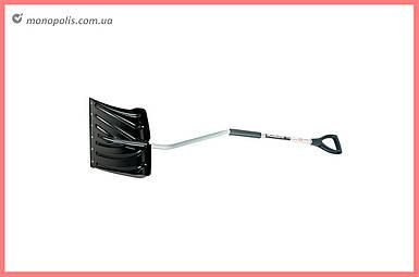 Лопата для снега Intertool - 460 x 340 мм с ручкой 1080 мм