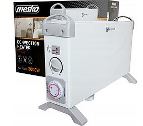 Конвекторный нагреватель Mesko MS 7713, 3 уровня мощности, таймер, термостат