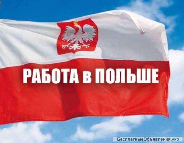 Офицеальная Работа в Польше по рабочей визе можно с подачей на Карту побыта