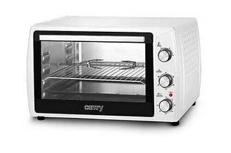 Многофункциональная электрическая печь Camry CR 6008, 60 литров, 2000Вт, 5 режимов работы, конвекция, гриль
