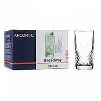 Набор стаканов высоких Arcoroc Вroadway 380мл 6 шт.