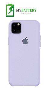 Чехол Silicone Case original (чехол-бампер) iPhone 11 Сиреневый (5)