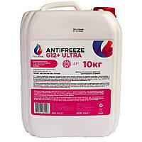 Антифриз NanoFrost G 12+ ULTRA (розовый) 10 кг