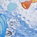 Антиковзаючий килимок у ванну (515) (Черепаха), фото 3