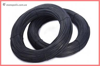 Проволока вязальная Укрметиз  - 1,6 мм x 100 м (1600г) черная