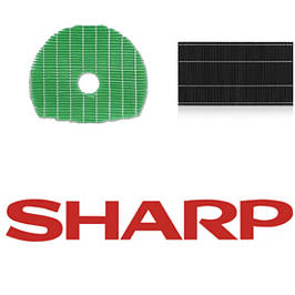 Фильтра и запасные части для очистителей воздуха Sharp