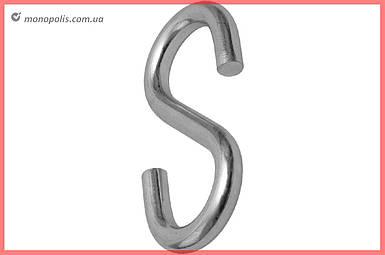Крюк S-образный Apro - 4 мм