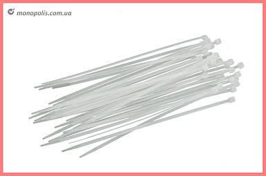 Хомут пластиковый Intertool - 2,5 х 100 мм, белый (100 шт.)