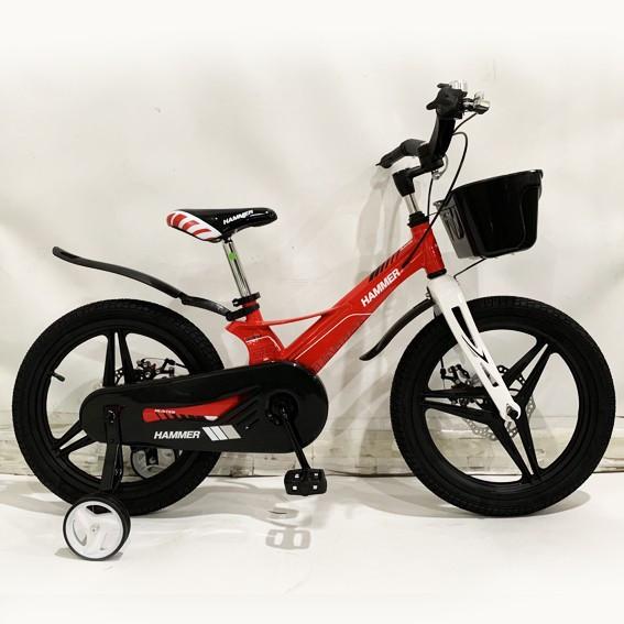 Велосипед 1850G-HAMMER HUNTER Red (красный) Магниевая рама и диски (Magnesium)