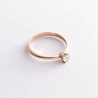Кольцо золотое для предложения девушке к05963