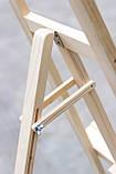 Мольберт тренога деревянный художественный для рисования 157 х 59 х 40 см Energy Wood №40 дерево сосна, фото 5