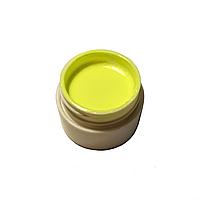 Гель-краска для ногтей Gel Color бледно-желтая с липким слоем