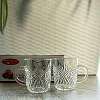 Набор стеклянных чашек HLS 220 мл*6 шт (6231), фото 1