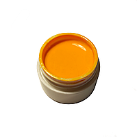 Гель-краска для ногтей Gel Color отборная желтая с липким слоем