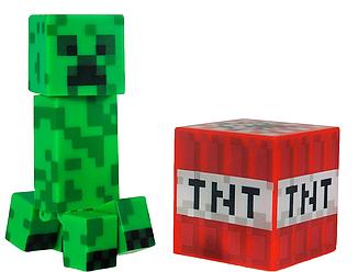 Фигурка Майнкрафт Крипер, с аксессуарами, 6 см - Creeper Minecraft